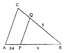 ML Aggarwal Class 10 Solutions for ICSE Maths Chapter 13 Similarity MCQS 17