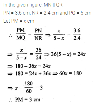 ML Aggarwal Class 10 Solutions for ICSE Maths Chapter 13 Similarity MCQS 20