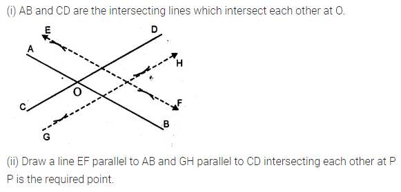 ML Aggarwal Class 10 Solutions for ICSE Maths Chapter 14 Locus Chapter Test 5