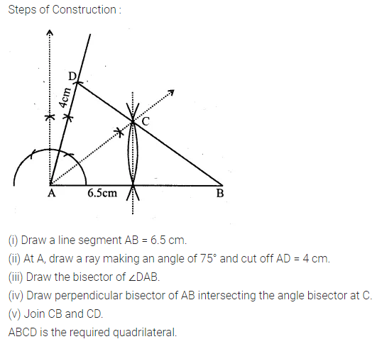 ML Aggarwal Class 10 Solutions for ICSE Maths Chapter 14 Locus Chapter Test 9