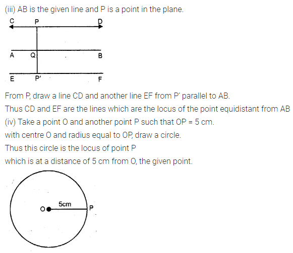 ML Aggarwal Class 10 Solutions for ICSE Maths Chapter 14 Locus Ex 14 10