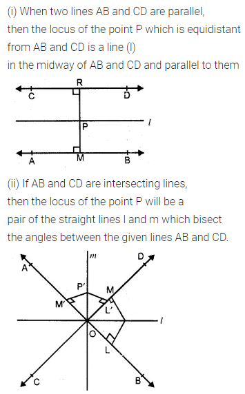 ML Aggarwal Class 10 Solutions for ICSE Maths Chapter 14 Locus Ex 14 2