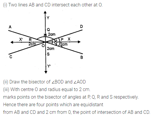 ML Aggarwal Class 10 Solutions for ICSE Maths Chapter 14 Locus Ex 14 21