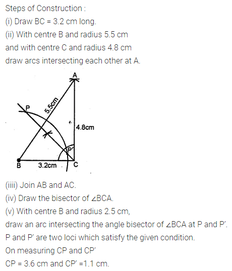 ML Aggarwal Class 10 Solutions for ICSE Maths Chapter 14 Locus Ex 14 25