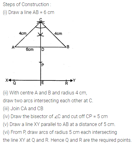 ML Aggarwal Class 10 Solutions for ICSE Maths Chapter 14 Locus Ex 14 28