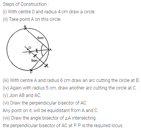 ML Aggarwal Class 10 Solutions for ICSE Maths Chapter 14 Locus Ex 14 29