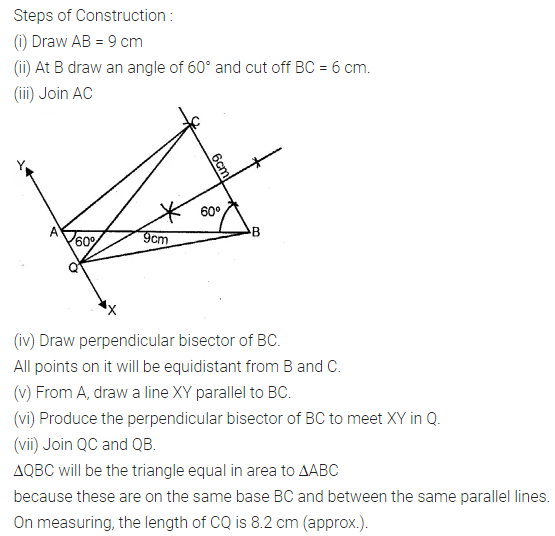 ML Aggarwal Class 10 Solutions for ICSE Maths Chapter 14 Locus Ex 14 30