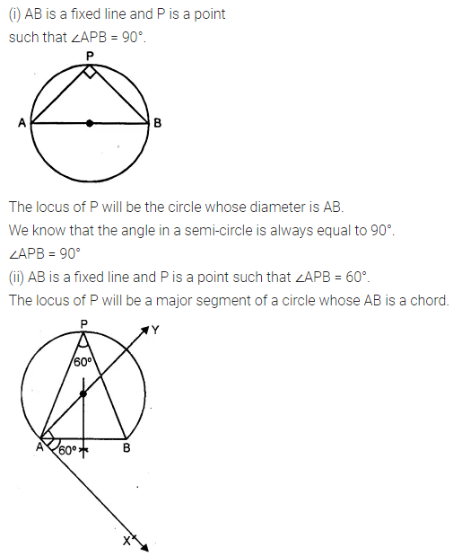 ML Aggarwal Class 10 Solutions for ICSE Maths Chapter 14 Locus Ex 14 4