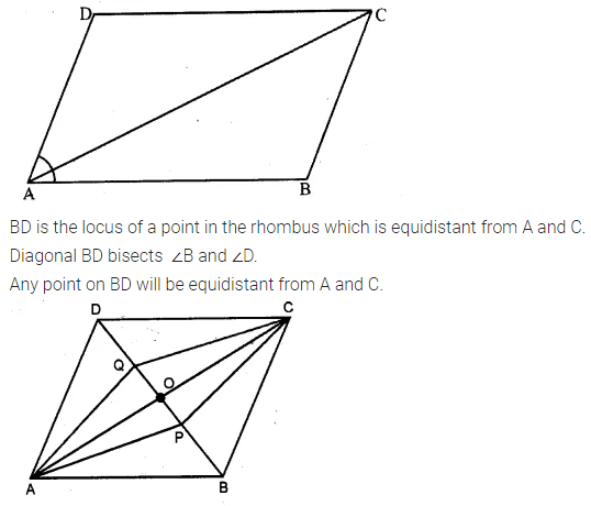 ML Aggarwal Class 10 Solutions for ICSE Maths Chapter 14 Locus Ex 14 8