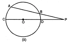 ML Aggarwal Class 10 Solutions for ICSE Maths Chapter 15 Circles Chapter Test 33