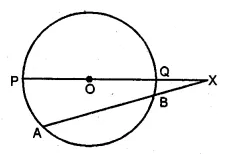 ML Aggarwal Class 10 Solutions for ICSE Maths Chapter 15 Circles Chapter Test 37