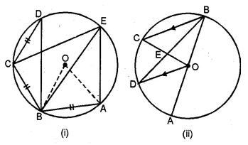 ML Aggarwal Class 10 Solutions for ICSE Maths Chapter 15 Circles Chapter Test 49