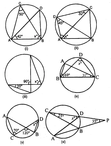 ML Aggarwal Class 10 Solutions for ICSE Maths Chapter 15 Circles Ex 15.1 1