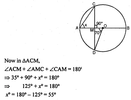 ML Aggarwal Class 10 Solutions for ICSE Maths Chapter 15 Circles Ex 15.1 10