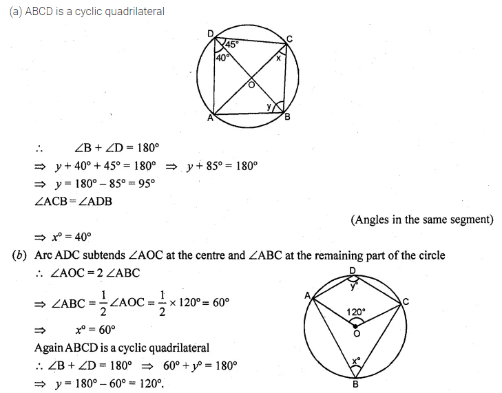 ML Aggarwal Class 10 Solutions for ICSE Maths Chapter 15 Circles Ex 15.1 14
