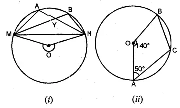 ML Aggarwal Class 10 Solutions for ICSE Maths Chapter 15 Circles Ex 15.1 15