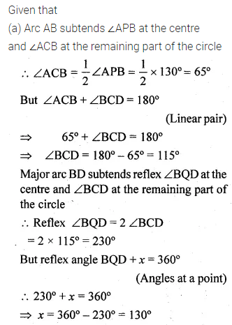 ML Aggarwal Class 10 Solutions for ICSE Maths Chapter 15 Circles Ex 15.1 25