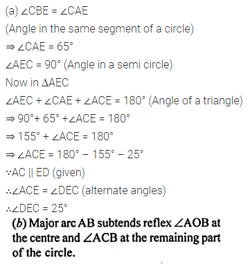 ML Aggarwal Class 10 Solutions for ICSE Maths Chapter 15 Circles Ex 15.1 28