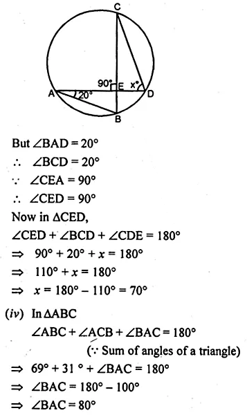 ML Aggarwal Class 10 Solutions for ICSE Maths Chapter 15 Circles Ex 15.1 3