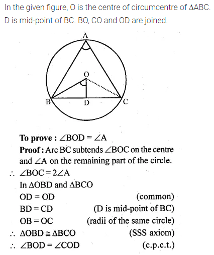 ML Aggarwal Class 10 Solutions for ICSE Maths Chapter 15 Circles Ex 15.1 34