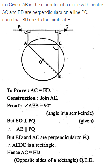 ML Aggarwal Class 10 Solutions for ICSE Maths Chapter 15 Circles Ex 15.1 39