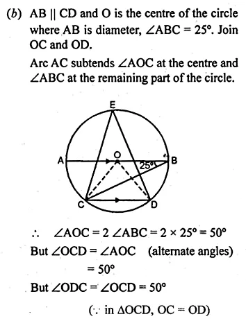 ML Aggarwal Class 10 Solutions for ICSE Maths Chapter 15 Circles Ex 15.1 40