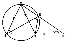 ML Aggarwal Class 10 Solutions for ICSE Maths Chapter 15 Circles Ex 15.1 45