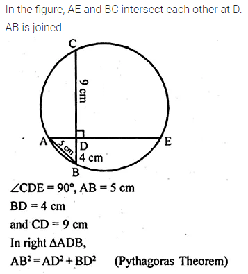 ML Aggarwal Class 10 Solutions for ICSE Maths Chapter 15 Circles Ex 15.1 58