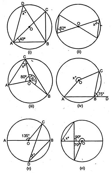 ML Aggarwal Class 10 Solutions for ICSE Maths Chapter 15 Circles Ex 15.1 6