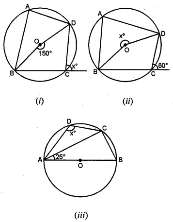 ML Aggarwal Class 10 Solutions for ICSE Maths Chapter 15 Circles Ex 15.2 1