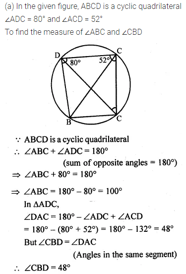 ML Aggarwal Class 10 Solutions for ICSE Maths Chapter 15 Circles Ex 15.2 16