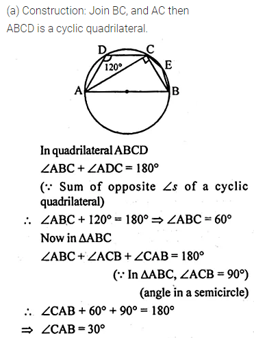 ML Aggarwal Class 10 Solutions for ICSE Maths Chapter 15 Circles Ex 15.2 29