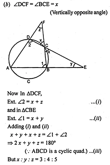 ML Aggarwal Class 10 Solutions for ICSE Maths Chapter 15 Circles Ex 15.2 30