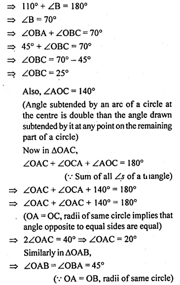 ML Aggarwal Class 10 Solutions for ICSE Maths Chapter 15 Circles Ex 15.2 34