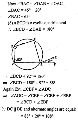 ML Aggarwal Class 10 Solutions for ICSE Maths Chapter 15 Circles Ex 15.2 35