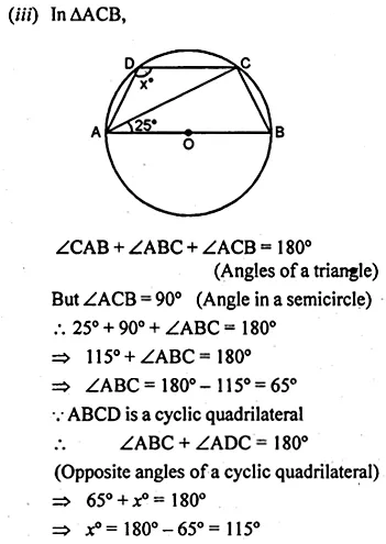ML Aggarwal Class 10 Solutions for ICSE Maths Chapter 15 Circles Ex 15.2 4