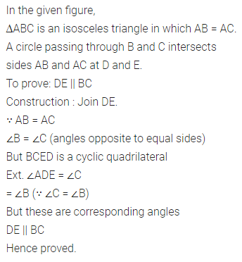 ML Aggarwal Class 10 Solutions for ICSE Maths Chapter 15 Circles Ex 15.2 53