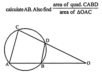 ML Aggarwal Class 10 Solutions for ICSE Maths Chapter 15 Circles Ex 15.2 56