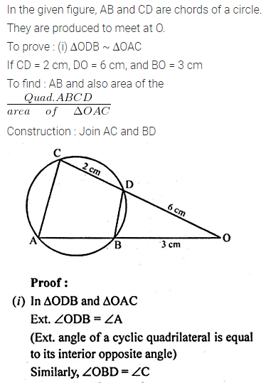 ML Aggarwal Class 10 Solutions for ICSE Maths Chapter 15 Circles Ex 15.2 57