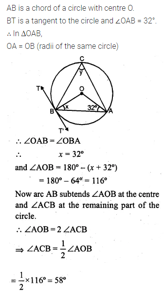 ML Aggarwal Class 10 Solutions for ICSE Maths Chapter 15 Circles Ex 15.3 100
