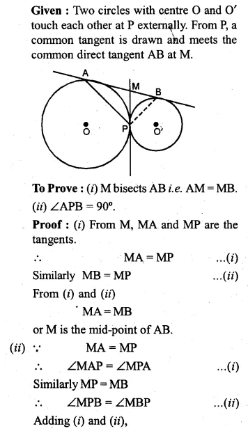 ML Aggarwal Class 10 Solutions for ICSE Maths Chapter 15 Circles Ex 15.3 101