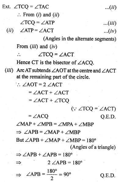 ML Aggarwal Class 10 Solutions for ICSE Maths Chapter 15 Circles Ex 15.3 102