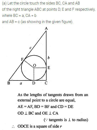 ML Aggarwal Class 10 Solutions for ICSE Maths Chapter 15 Circles Ex 15.3 17