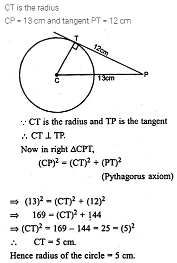 ML Aggarwal Class 10 Solutions for ICSE Maths Chapter 15 Circles Ex 15.3 2