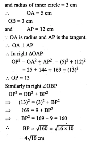 ML Aggarwal Class 10 Solutions for ICSE Maths Chapter 15 Circles Ex 15.3 28