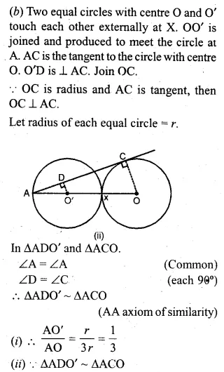 ML Aggarwal Class 10 Solutions for ICSE Maths Chapter 15 Circles Ex 15.3 32
