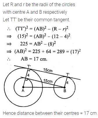 ML Aggarwal Class 10 Solutions for ICSE Maths Chapter 15 Circles Ex 15.3 34