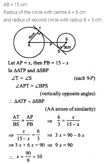 ML Aggarwal Class 10 Solutions for ICSE Maths Chapter 15 Circles Ex 15.3 38