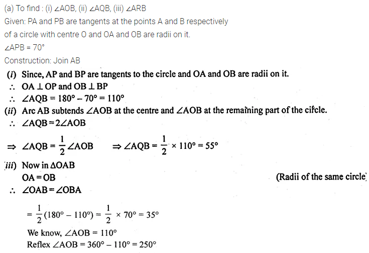 ML Aggarwal Class 10 Solutions for ICSE Maths Chapter 15 Circles Ex 15.3 41