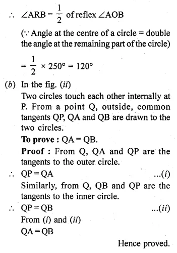 ML Aggarwal Class 10 Solutions for ICSE Maths Chapter 15 Circles Ex 15.3 42